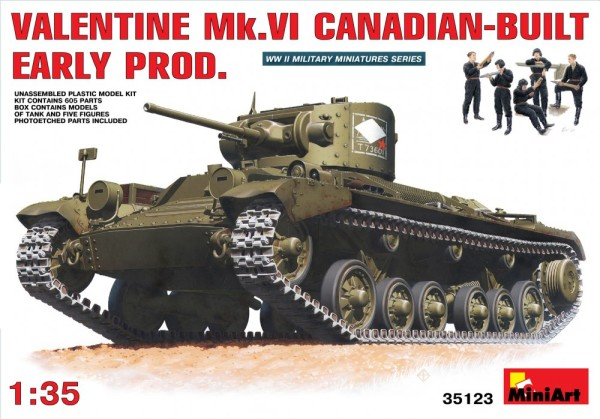 MA35123   Valentine Mk 6. Canadian - built Early Prod. (thumb26351)