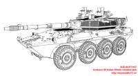 ACE72437   Centauro B1 Italian 105mm wheeled tank (attach6 25445)