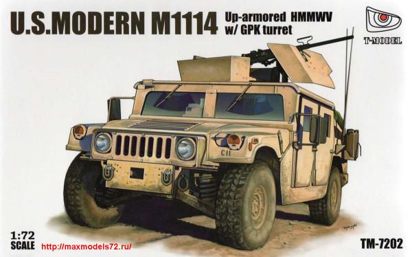 TM7202   U.S.HMMWV M1114 w/GPK turret (thumb27422)