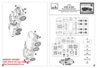 AR14803   1/144 ATZ-4-131 fuel refueller (attach3 31245)