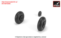 AR AW72056   1/72 Iljushin IL-2 Bark (late) wheels w/ weighted tires (attach1 31299)