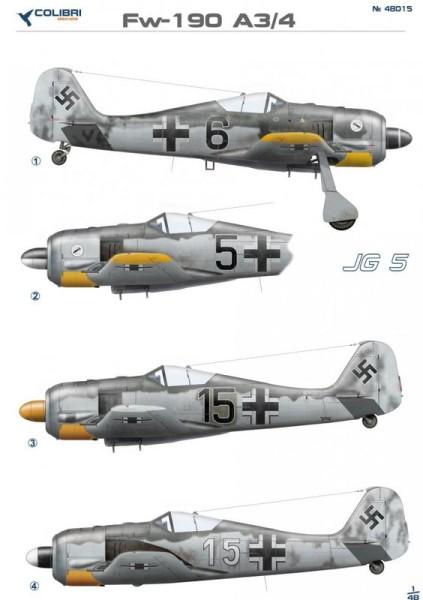 CD48015   Fw-190 A3 JG 5 (thumb24961)