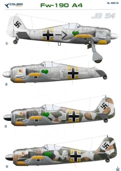 CD48016   Fw-190 A4 Jg 54 (thumb24965)