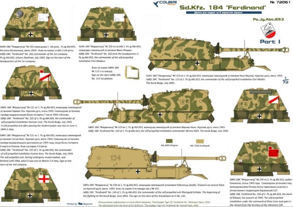 "CD72061   Sd.Kfz. 184 ""Ferdinand""  Part I  Pz.Jg.Abt. 653 (thumb24909)"