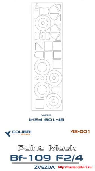 CDM48001   Bf-109 F2/4 (Zvezda) (thumb24812)