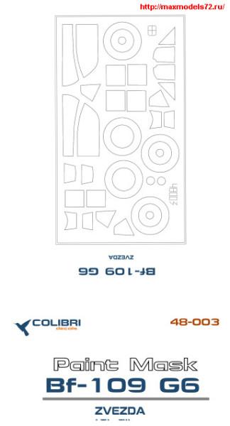 CDM48003   Bf-109 G-6 (Zvezda) (thumb24816)