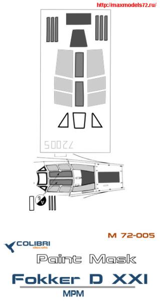 CDM72005   Fokker D XXI (MPM) (thumb24804)