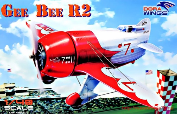 DW48001   Gee Bee Super Sportster R-2 (thumb32710)