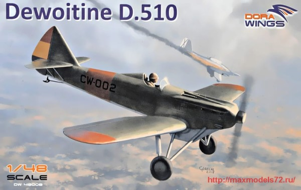 DW48008   Dewoitine D.510 Spanish civil war (thumb32718)