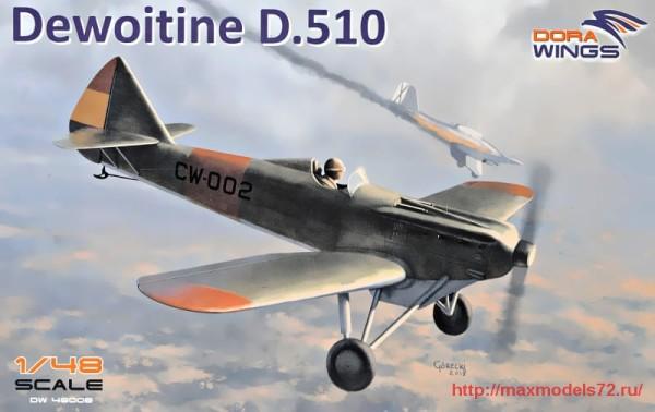 DW48008   Dewoitine D.510 Spanish civil war (thumb32718)