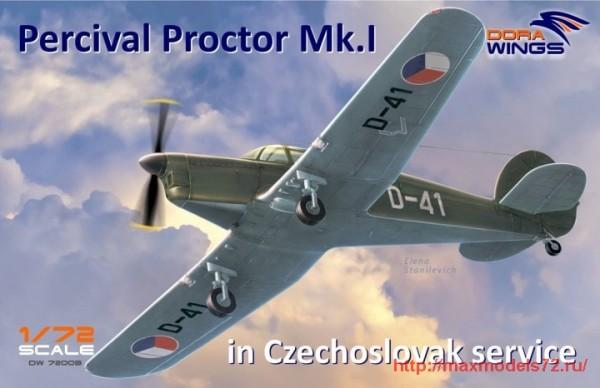 DW72003   Percival Proctor Mk.1 marking of Czechoslovakia (thumb32724)