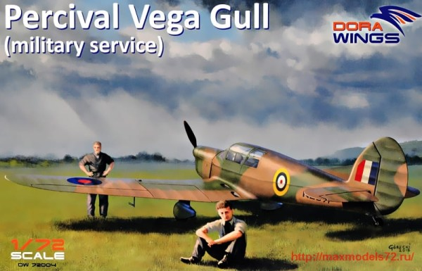 DW72004   Percival Vega Gull (military service) (thumb32726)