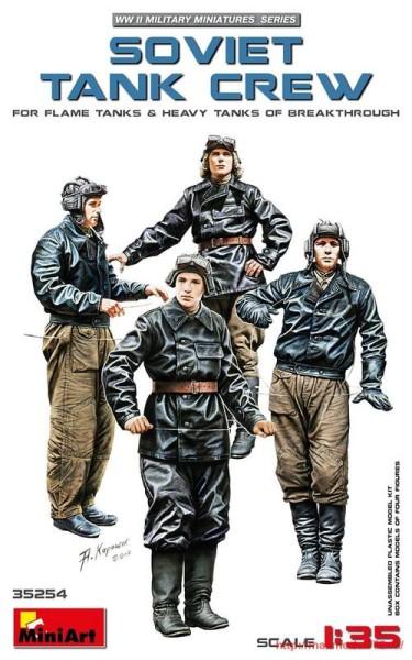 MA35254   Soviet Tank Crew (for Flame Tanks & Heavy Tanks of Breakthrough) (thumb32618)