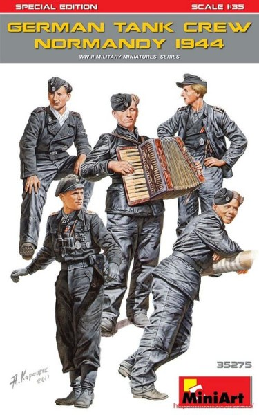 MA35275   German Tank Crew ( Normandy 1944 ). Special Edition (thumb32635)