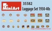 MA35582   Luggage Set 1930-40s (attach1 32643)