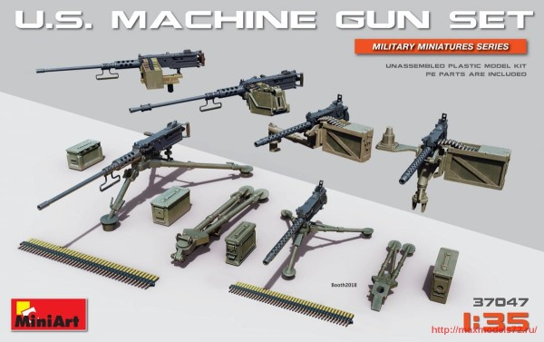 MA37047   U.S. Machine Gun Set (thumb32683)