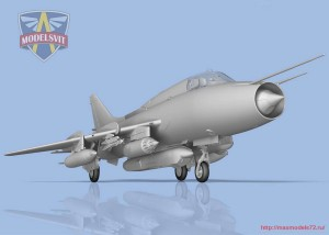 MSVIT72048   Su-17M3R Reconnaissance fighter-bomber with KKR pod (attach1 32696)