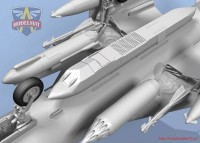 MSVIT72048   Su-17M3R Reconnaissance fighter-bomber with KKR pod (attach3 32696)
