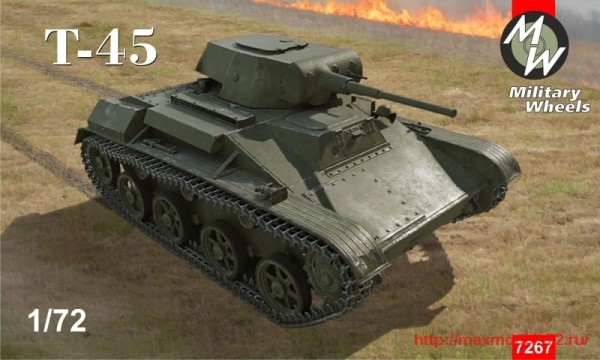MW7267   T-45 Light tank (thumb32581)