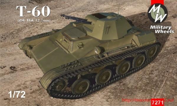 MW7271   Tank T-60 (ZSU Flak 12,7 mm) (thumb32583)