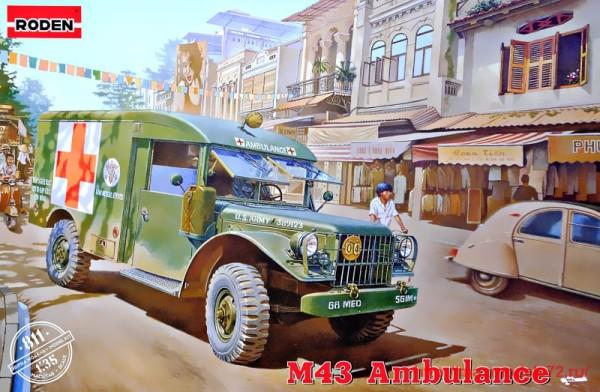 RN811   M43 3/4 ton 4x4 Ambulance truck (thumb32703)