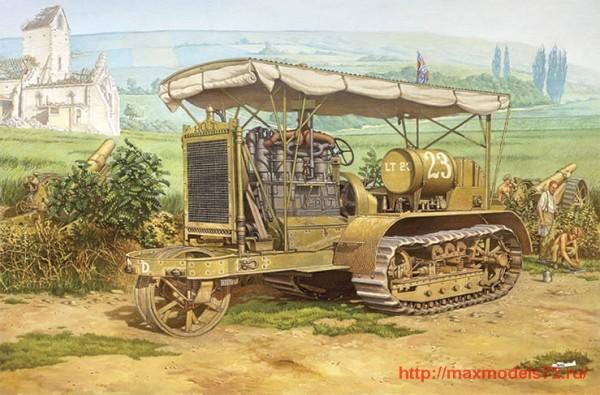 RN812   Holt 75 Artillery tractor (thumb32705)