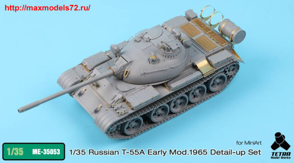 TetraME-35053   1/35 T-55A Early Mod. 1965 for MiniArt (thumb33742)