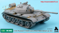TetraME-35053   1/35 T-55A Early Mod. 1965 for MiniArt (attach3 33742)