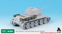 TetraME-35033   1/35 T-34/85 Ver. 112 Factory Detail up set for ACADEMY (attach1 33368)