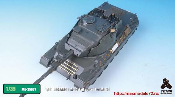 TetraME-35037   1/35 LEOPARD 1 A5 Detail up set For MENG (thumb33403)