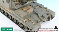 TetraME-35046   1/35 British  AS-90 Self-Propelled Howitzer  Detail up set for Trumpeter (attach1 33667)