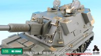 TetraME-35046   1/35 British  AS-90 Self-Propelled Howitzer  Detail up set for Trumpeter (attach3 33667)