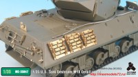 TetraME-35047   1/35 U.S. Tank Destroyer M10 Detail up set (for Tamiya 35350) (attach5 33678)