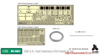 TetraME-35047   1/35 U.S. Tank Destroyer M10 Detail up set (for Tamiya 35350) (attach9 33678)