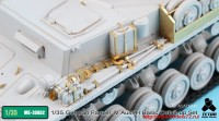 TetraME-35052   1/35 German Panzer IV Ausf.H Basic Detail-up set for Academy (attach2 33731)