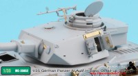 TetraME-35052   1/35 German Panzer IV Ausf.H Basic Detail-up set for Academy (attach7 33731)