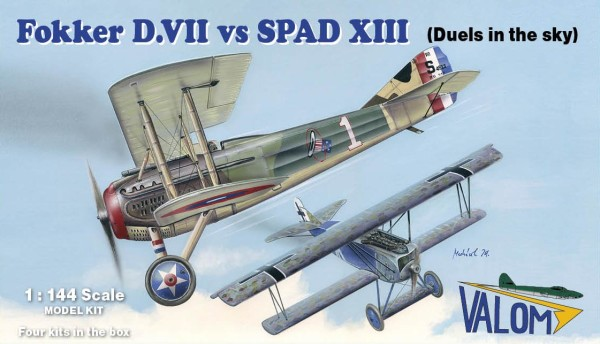 VM14419   Fokker D.VII vs SPAD XIII (Duels in the sky) (thumb24529)