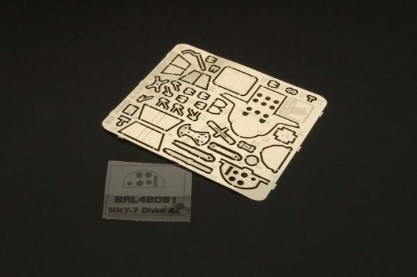 BRL48081   Yokosuka MXY7 OHKA Model 22 (BRENGUN) (thumb30586)