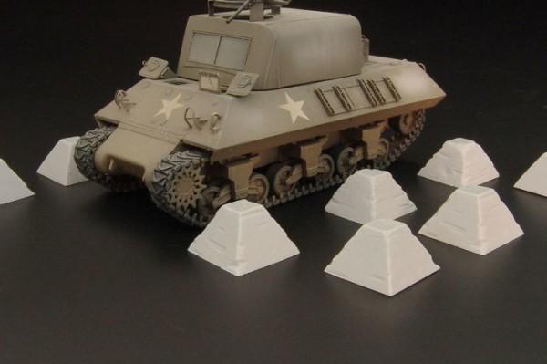 HLH72052   Dragon's Teeth tank traps (thumb29426)