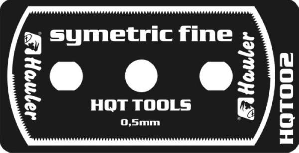 HQT002   stainless razor saw symetric fine (thumb29525)