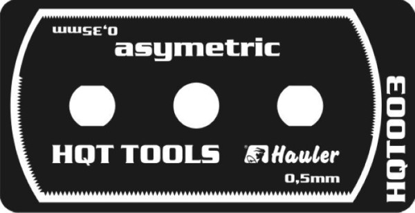 HQT003   stainless razor saw asymetric (thumb29528)