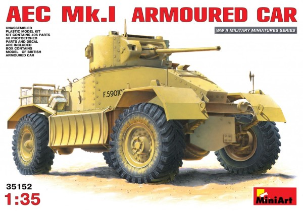 MA35152   AEC Mk.I armoured car (thumb27235)