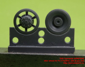 OKBS72343  Idler wheel for Pz.V Panther, late (8 per set) (thumb24723)