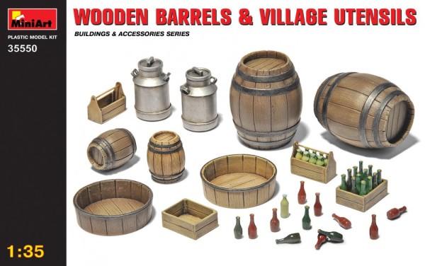 MA35550   Wooden barrels & village utensils (thumb26980)