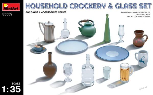 MA35559   Household crockery & Glass set (thumb26983)