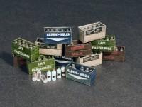 MA35573   Milk bottles & Wooden crates (attach3 27033)