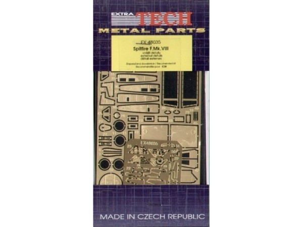 EX48035 SPITFIRE F.VIII EXTERIOR (ICM) (thumb28470)