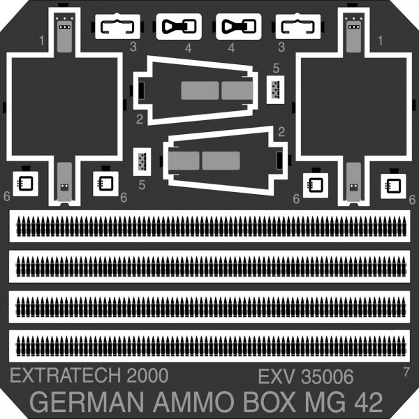 EXV35006 GERMAN MG 42 AMMO BOX (thumb28530)