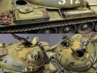 MA37009   T-54A tank. Interior kit (attach5 27075)