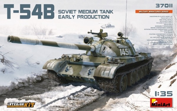 MA37011   T-54B (early prod.) Soviet medium tank. Interior kit (thumb27082)